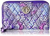 Vera Bradley Turnlock Wallet, Lilac Tape...