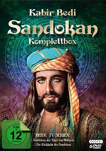 Sandokan - Komplettbox (Der Tiger von Malaysia & Die Rückkehr des Sandokan) [6 DVDs]
