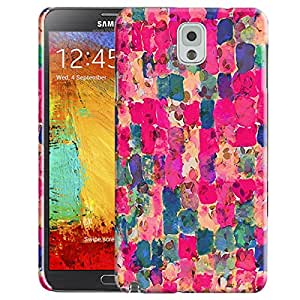 Theskinmantra Patch of colors back cover for Samsung Galaxy Note 3