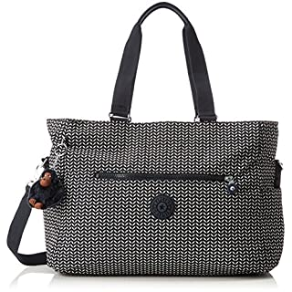 Kipling Adora Baby, Women's Backpack Handbag, Multicolour (Small Leaf), 15x24x45 cm (W x H x L)