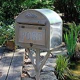 Freistehender Briefkasten, Aus Holz