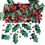 Amscan - Coriandoli Tabella Holly Christmas