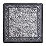 World of Accessories Bandana Seidentuch (Schwarz)
