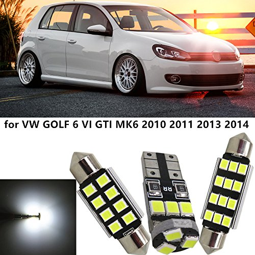 2x TOP LED Modul 18 SMD Fußraumbeleuchtung AUDI A3 Limousine 8VS ROT