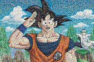 Jigsaw Puzzles Dragon Ball Z 1000 Piece Mosaic Art 1000-346 (japan import)