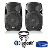 "Best Dj Speaker Pairs - Vonyx Pair of Active Powered 10"" Bluetooth DJ Review"