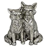 Pair of Foxes Ornament