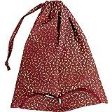 Papa pique maman coud y bolsa lencería, color Libellule mini rubis, tamaño Talla única
