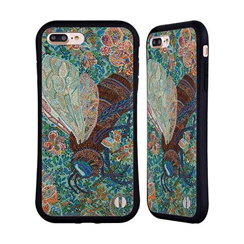 Ufficiale Erika Pochybova Farfalle Insetti Case Ibrida per Apple iPhone 7 / iPhone 8 Api