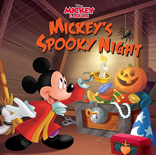(Mickey & Friends Mickey's Spooky Night: Purchase Includes Mobile App for iPhone and iPad! Read and Play)