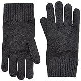 Tommy Hilfiger Herren Handschuhe Pima Cotton Glove, Grau (Charcoal Htr 004), One Size