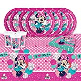 Minnie Mouse Lustige Punkte komplett Party-Set für 8 Personen