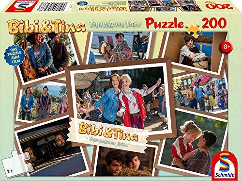 Schmidt Spiele Bibi & Tina Puzzle 56237, beige, Film 4, Freundinnen für alle Fälle 200 Teile Beige Fall