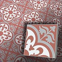 1m² Cemento azulejos Trend Diseño Azulejos GEDY Jamila 4474suelo azulejos