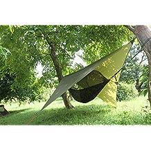 Camping Zeltbahn Zeltplane Wasserdicht Hängematte Zelt Sonnensegel Trekking  Zelt Vorzelt Dach Schutz Hammock Plane
