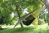 Camping Zeltbahn Zeltplane wasserdicht Hängematte Zelt Sonnensegel Trekking Zelt Vorzelt-Dach-Schutz Hammock Plane für Camping