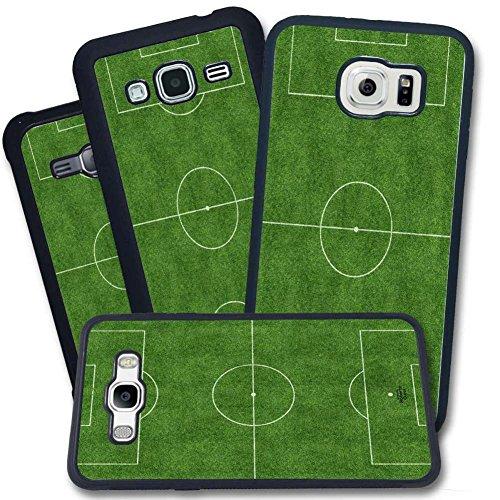 Cover Galaxy - Calcio Campo Sportivo Erbetta Verde sonalizzabile - Galaxy S7 Edge