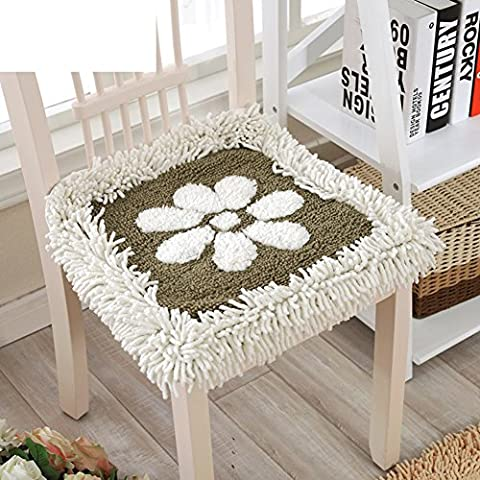 Tessuto da pranzo sedie cuscino/ ciniglia Cuscino/cuscini