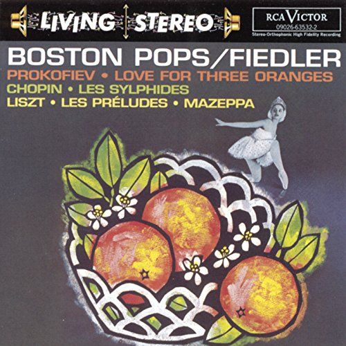 Prokofiev: Love for Three Oranges/Chopin: Les sylphides/Lizst: Les préludes; Mazeppa