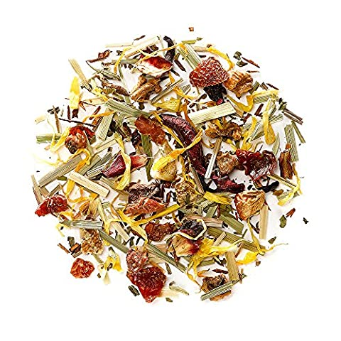 Thé Fruit Rouge - Infusion aux feuilles - Tisane aux baies séchée
