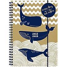 Brunnen 1072983138 Schülerkalender Wal (1 Woche in 2 Seiten, August 2017 bis Juli 2018)