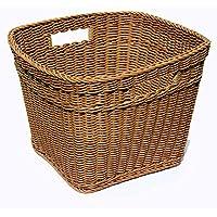 Puppenstuben & -häuser Melody Jane Puppenhaus Weißes Holz Wäschekorb Kleidung Wäschekorb 1:12