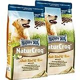 Happy Dog NaturCroq Rind + Reis 30kg (2 x 15kg)