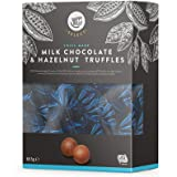 Marchio Amazon - Happy Belly Select Tartufi al cioccolato al latte e nocciola 665g