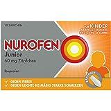 Nurofen Junior 60 mg Zäpfchen, 10 St. Zäpfchen