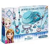 Unbekannt Disney Eiskönigin Schmuckkasten und Schmuckset-Bastelset • Frozen Schmuck Werkstatt Kreativ Set Kinder Basteln