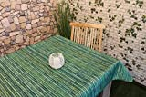 Wetterfeste OUTDOOR – Tischdecke mit wunderschönem Motiv - verschiedene Größe und Motive stehen zur Auswahl - die perfekte Tischdecke für drinnen und draußen - geeignet für Haus, Terrasse, Balkon und Garten - ABWASCHBAR - WIND- und WETTERFEST - WITTERUNGSBESTÄNDIG und WASSER- und SCHMUTZABWEISEND – Neu aus dem KAMACA-SHOP (130 x 160 cm eckig, Bambus)