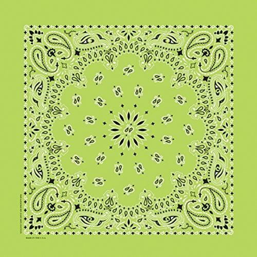 Artikelbild: Hav-A-Hank Paisley Bandanna 22'X22'-Lime