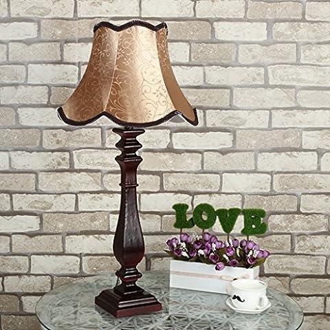 Regalos, lámpara de cabecera, retro-estilo europeo, creativo, lujoso dormitorio, sala de estar decorativos lámparas de mesa, lámpara de escritorio de la protección de ojo rústico, los