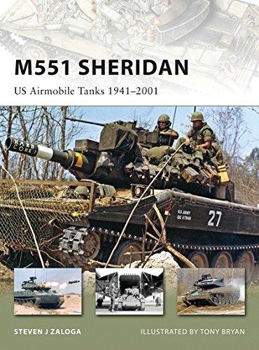 M551 Sheridan: US Airmobile Tanks 1941-2001: US Airmobile Tanks 1940-2000 (New Vanguard, Band 153) (Vanguard-karten)