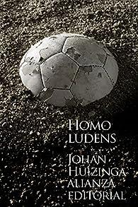 Homo ludens par Johan Huizinga