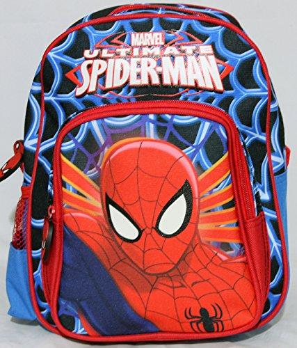 Zainetto scuola disney marvel spiderman con astuccio