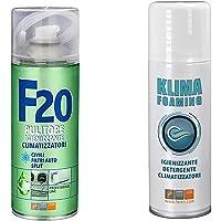 Faren - Traitement assainissant et désinfectant complet pour climatiseurs Klima Foaming + désinfectant F20