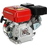 EBERTH GG1-ER196-6.5 Moteur à essence thermique (6,5 CV, 19,05 mm Arbre, Alarme manque d'huile, 4 Temps, 1 Cylindre, Refroidi