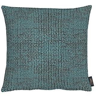 APELT Kissenhülle, Polyester, türkis, 40 x 40 x 0.3 cm