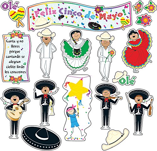 Creative Lehre Press Cinco De Mayo Mini Bulletin Board Set (1150)