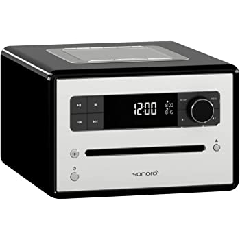 sonoro sonorocd 2 cd player mit dab radio mit bluetooth. Black Bedroom Furniture Sets. Home Design Ideas