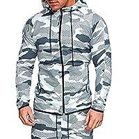 LITTHING Printed Camouflage Hoodies Sweatshirt Male Camo Hoody Hip Hop Fleece Military Men's Hoodie Sweatshirts Long Sleeve