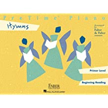 Pretime Piano Hymns: Primer Level, Beginning Reading