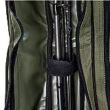ARAPAIMA FISHING EQUIPMENT Allround Rutentasche Angeln Tasche mit 2 Innenfächern für Angelruten, Kescher und Rutenhalter - 160cm - Oliv Test