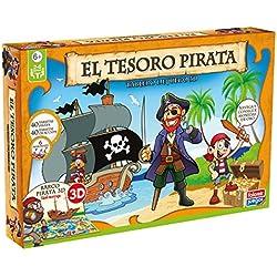 El tesoro pirata, juego de mesa.