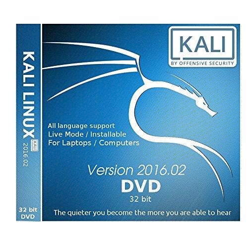 Kali Linux 32 bit 2016.2 DVD