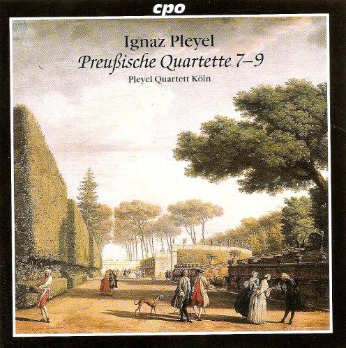Pleyel: Preussische Quartette 1-3