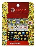 Undercover EMCA0032 - Großes Sticker Set, Emoji