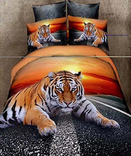 king-home-textile-3d-juego-de-ropa-de-cama-animal-el-tigre-asfalto-carretera-4-piezas-cama-edredon-d