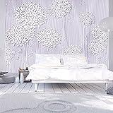 murando - Fototapete Blumen 250x175 cm - Vlies Tapete - Moderne Wanddeko - Design Tapete - Wandtapete - Wand Dekoration - Blume Abstrakt b-C-0008-a-c